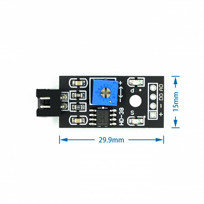 Soil Moisture Sensor and Soil Detector Module for Arduino