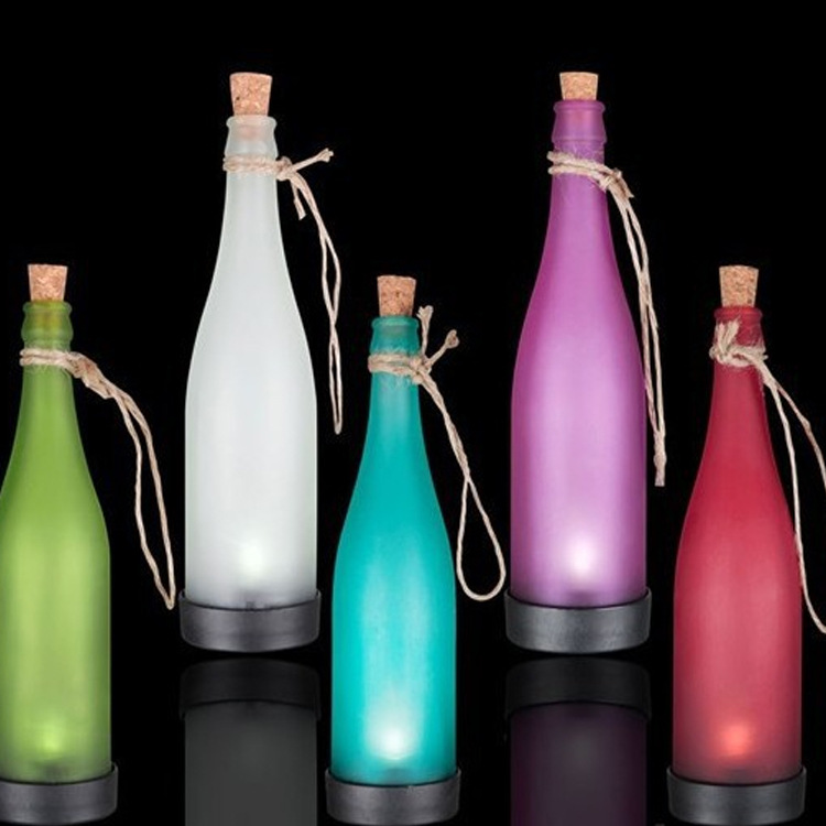 Solar bottle lights LED decorative garden ornament hanging lamp chande
