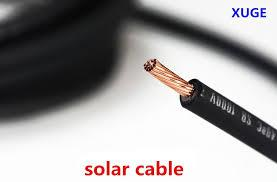Solar Cable 4.0 sq mm.  Rm6 per metre(10m red & 10 m black)