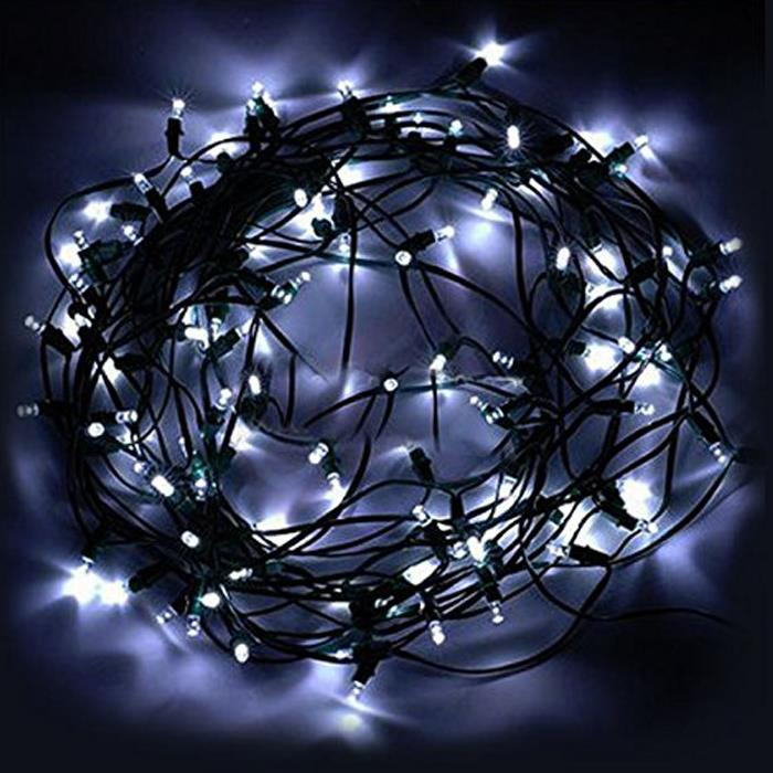 Solar Christmas String Light 50led Garden Fairy Lights