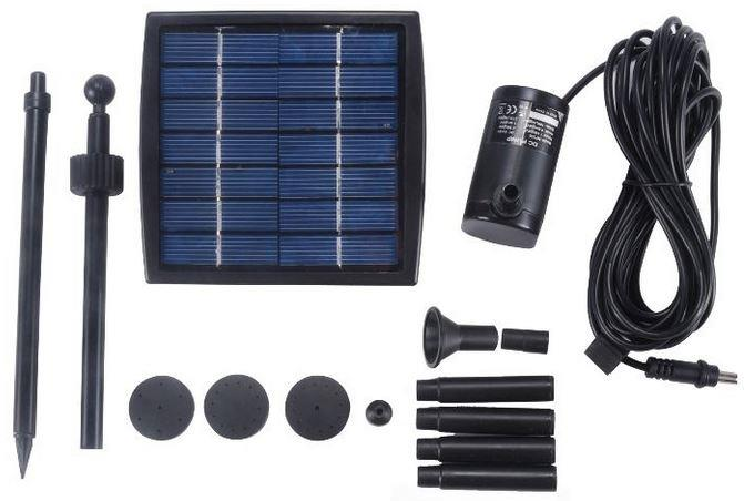 Solar Fountain Pump, For Pond  & Garden