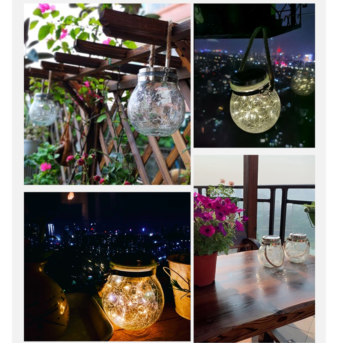 Solar LED Decoration Garden Light Waterproof Yard Deco Lamp
