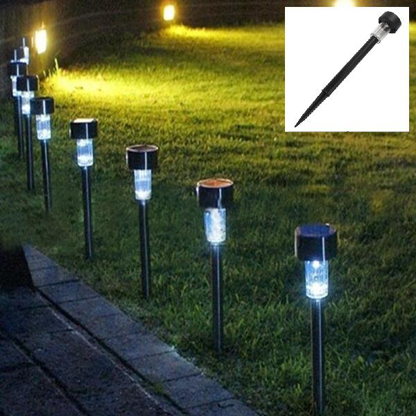 Solar Led Light White Outdoor Garden Lights Ed Lamps