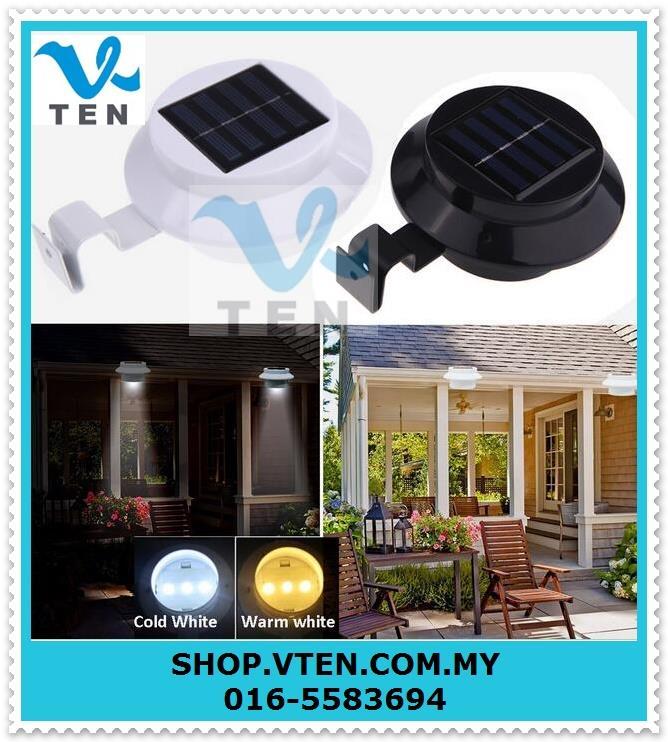 Solar LED Rechargeable 3-LED Garden (end 9/17/2019 4:15 PM