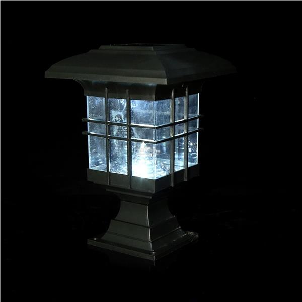 Solar Post LED Housing Solar Lamp Garden LED Outdoor