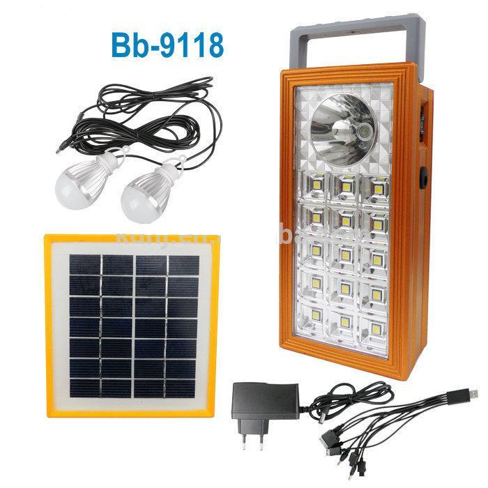 solar powered lighting system