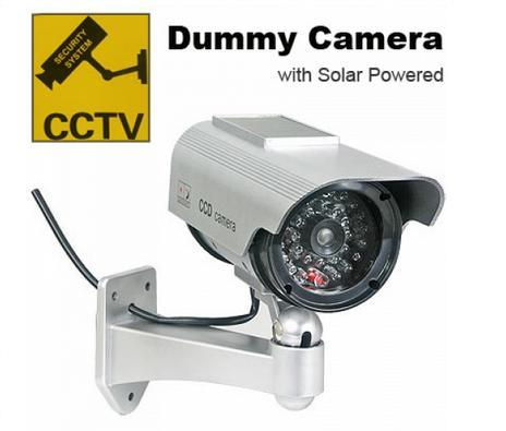 Solar Powered Dummy Camera