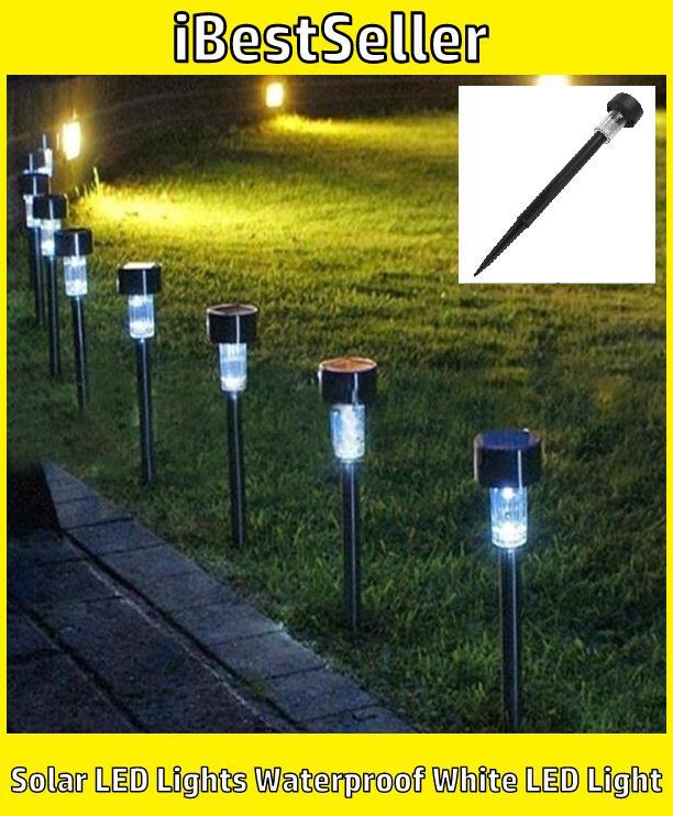 amazoncom 12pack 6color solar garden lights path lights giga