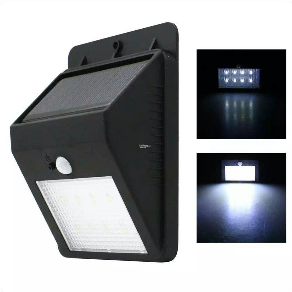 Solar powered night sensor led out end 11132017 1015 pm solar powered night sensor led outdoor wall light mozeypictures Images