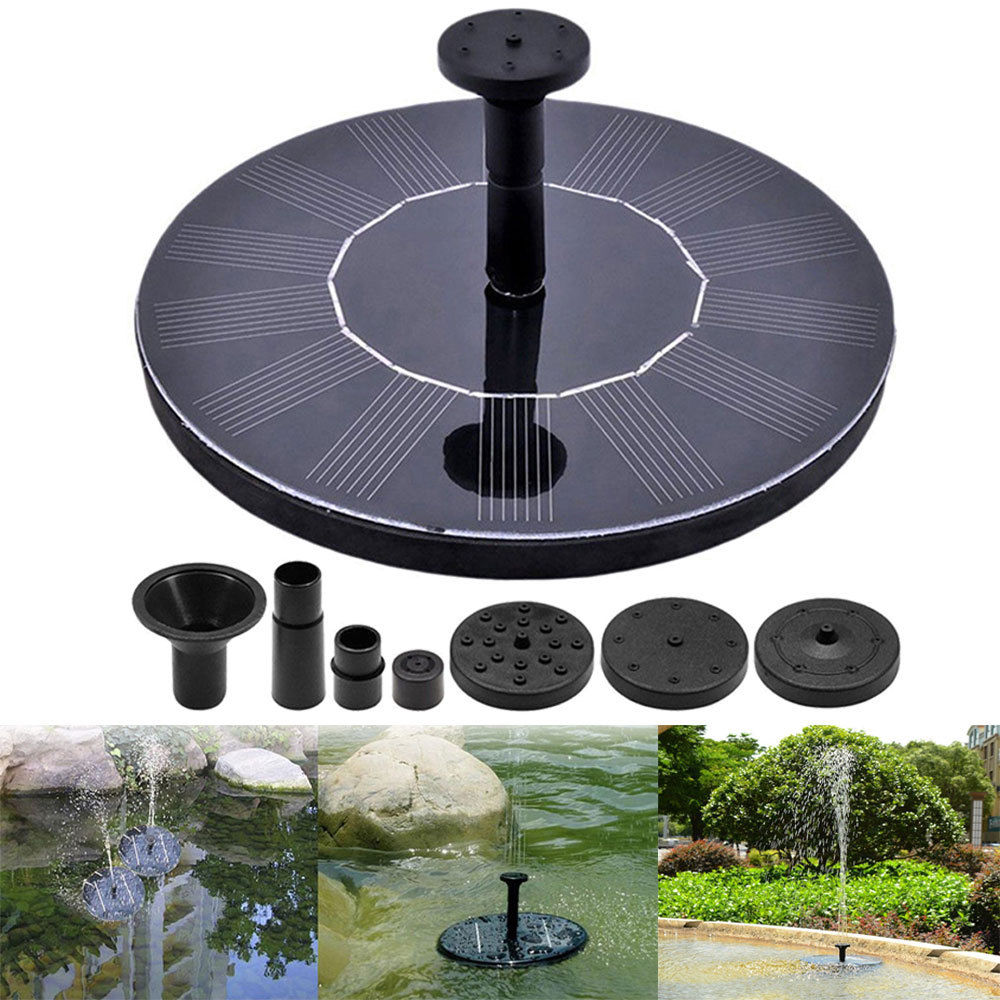 solar powered water fountain kit fo end 1 12 2021 12 00 am. Black Bedroom Furniture Sets. Home Design Ideas