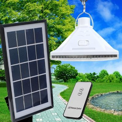 Solar Remote Control 25LED LED Light Bulb Lamp System Hanging Wall