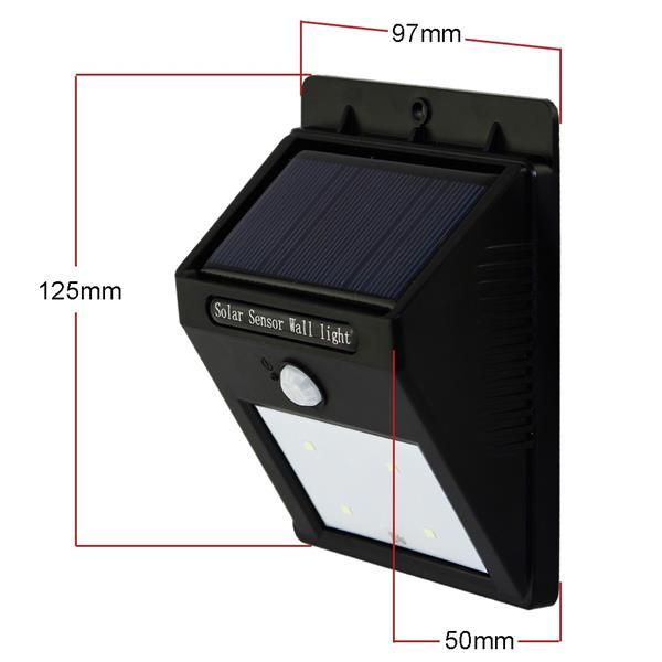 Solar sensor wall light outdoor mo end 11292018 1115 am solar sensor wall light outdoor motion sensor light 25 led aloadofball Choice Image