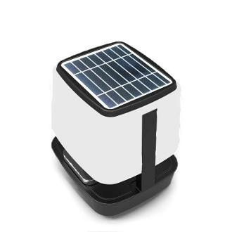 Solar Wireless Speaker With Night Light
