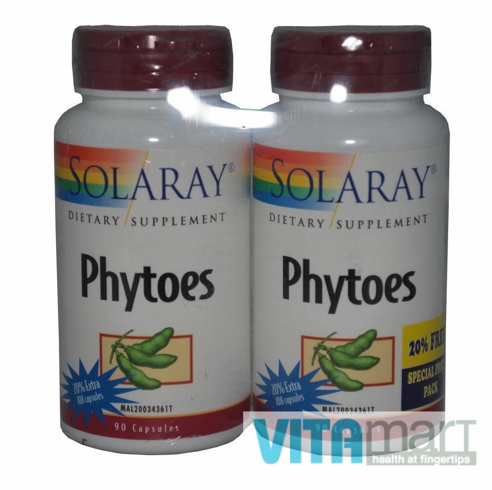 Solaray Phytoes 2 x 90's