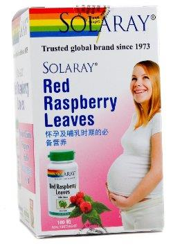 Solaray Red Raspberry Leaves 100s