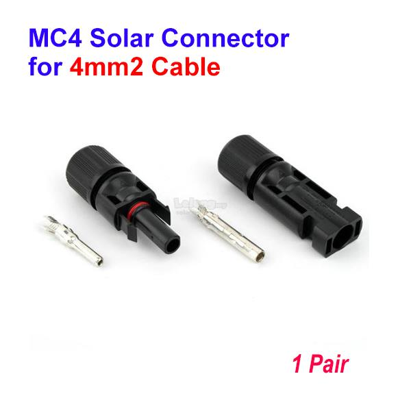 SOLARMO MC4 Solar Connector for 4mm2 Cable - Pair