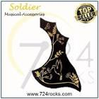 Soldier Acoustic guitar anti scratch pickguard - Hummingbird 2