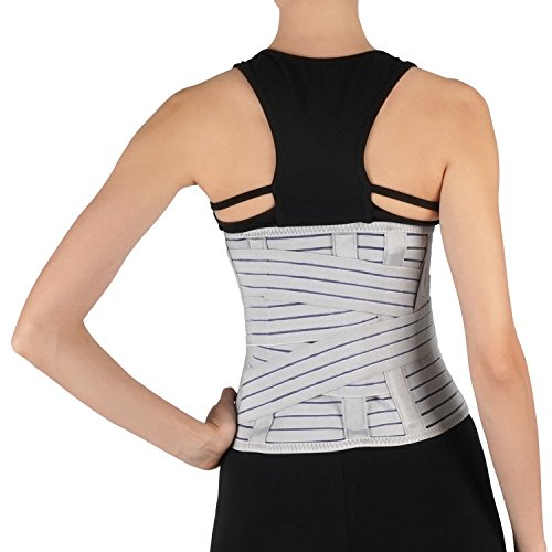 Soles Lumbar Back Brace Breathable Corset, Unisex, One Size Fits Most, 440 Gra