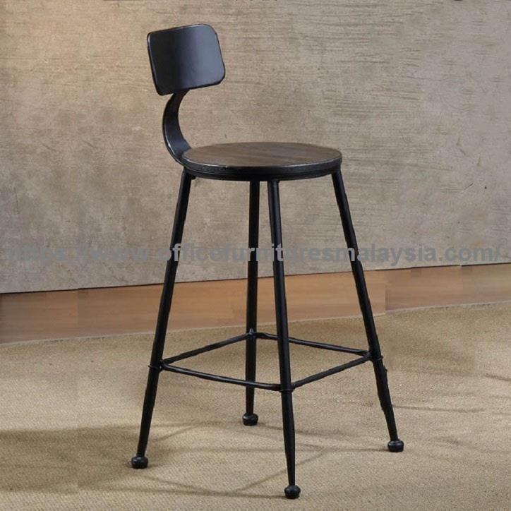 Solid Wood Bar Stool With Back YGBSD-899C sunway damansara usj mont ki