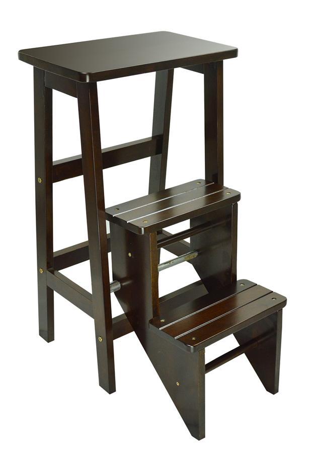 Solid Wood Ladder Step Chair u0026 Stool-Cappucino  sc 1 st  Lelong.my & Solid Wood Ladder Step Chair u0026 Stool (end 8/27/2016 3:15 PM) islam-shia.org