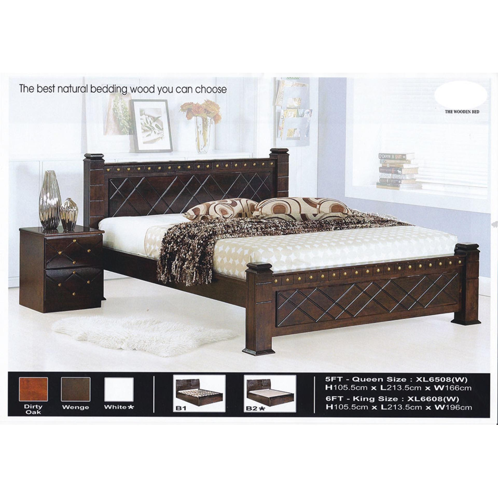 Solid Wood Strong Queen Size Wooden (end 5/2/2021 12:00 AM)