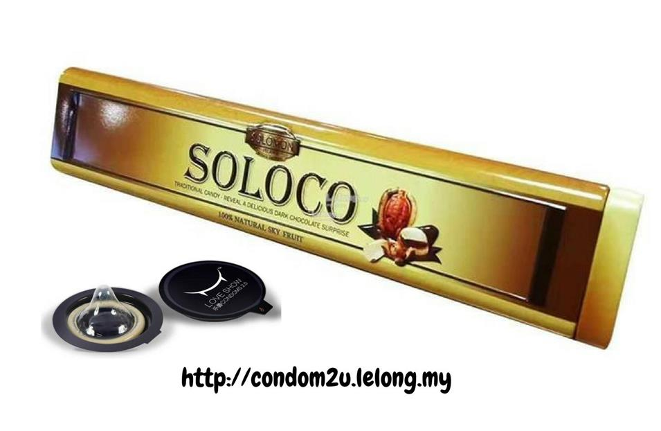 Soloco Chocolate for Men 12pcs (1/2/3tin) (Almost same as Candy B+)