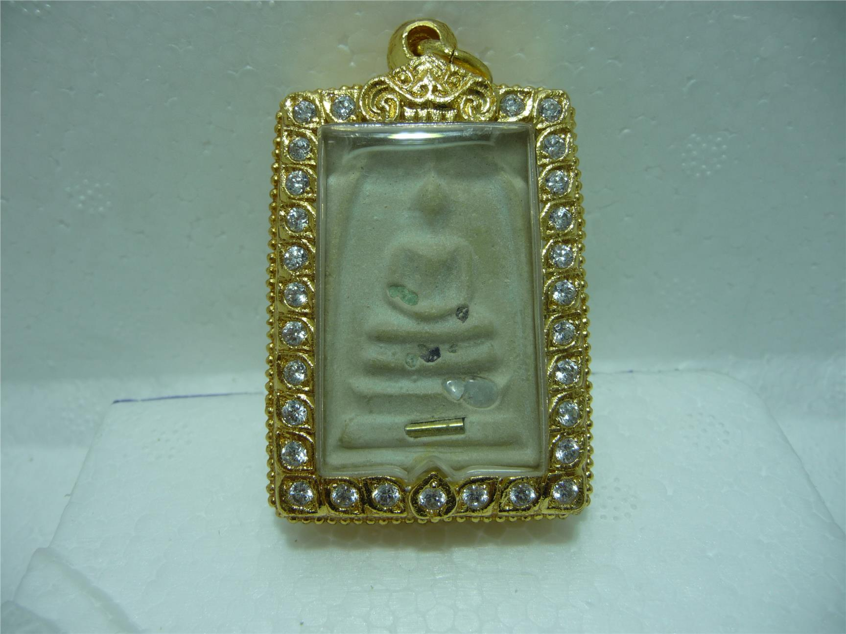 Somdej with Sarira, Monk of King thai amulet