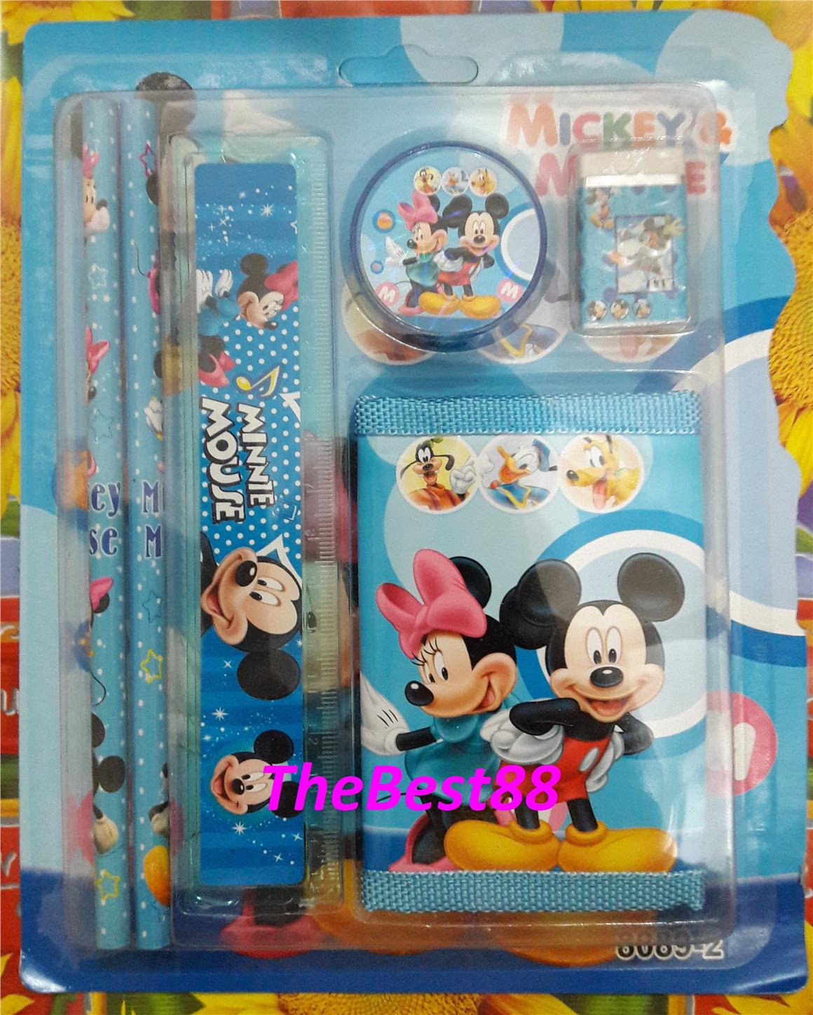 SOMI Mickey Stationery Set 6 In 1 SS8 (end 6/4/2018 2:15 PM