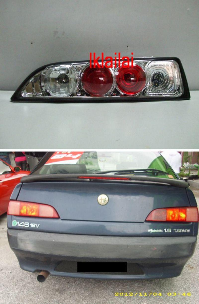 Sonar Alfa Romeo 146 Tail Lamp Chrom End 11 5 2018 724 Pm Rear Chrome Housing