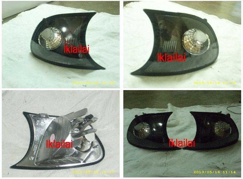 Sonar BMW 3 Series E46 '98 2D Corner Lamp Black