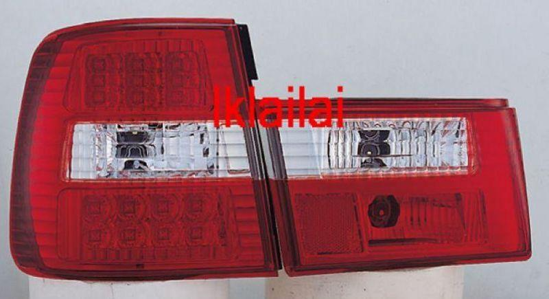 Sonar BMW 5 SERIES E34 88-94 LED TAIL LAMP [RED/CLEAR]