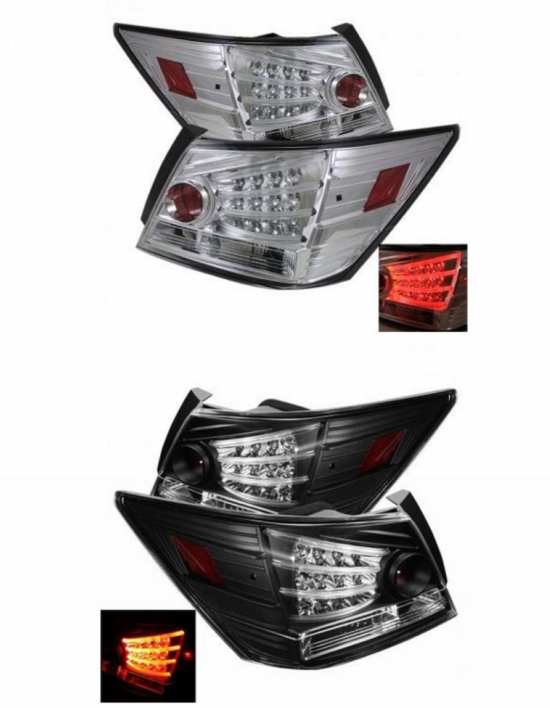 SONAR Honda Accord 08 LED Light Bar Tail Lamp [Chrome / Smoke]