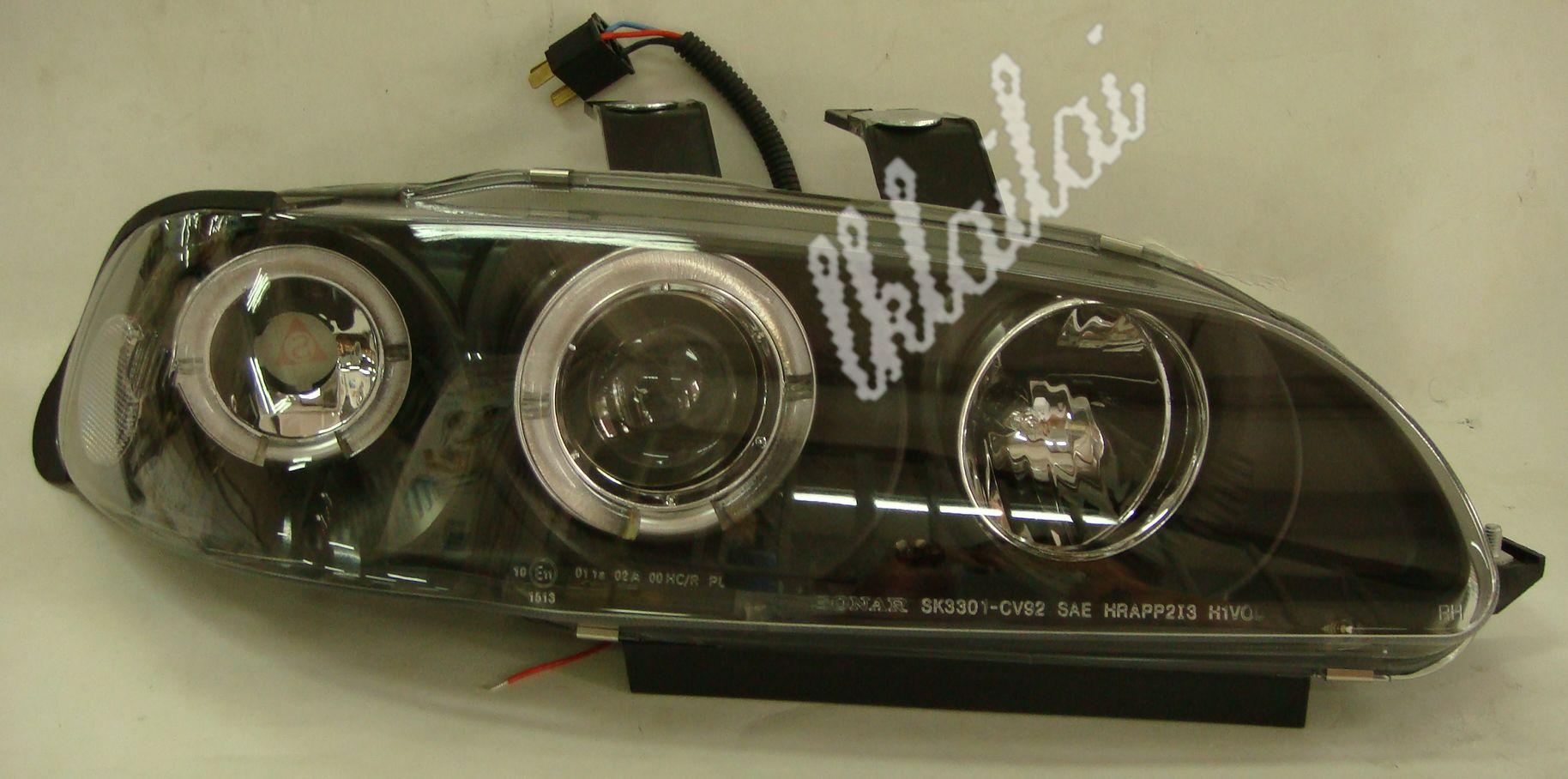 SONAR Honda Civic EG '92-95 4D LED Ring Projector Head Lamp