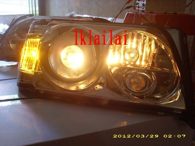 Sonar Mercedes Benz E-Class W124 '93 Head Lamp Projector [Chrome]