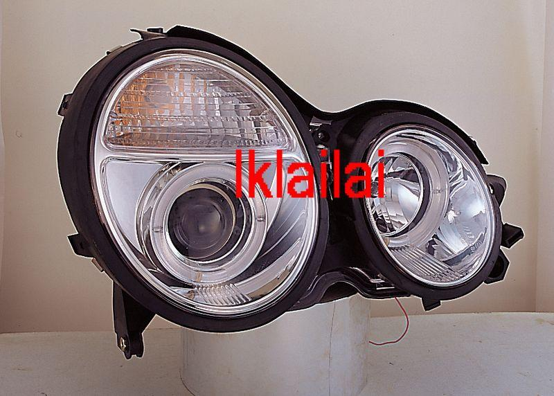 Sonar MERCEDES BENZ W210 '95-98/'98-02 LED Projector Head Lamp [Chrome