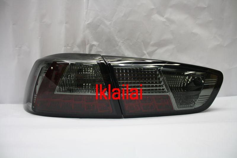 SONAR Mitsubishi Lancer '08 Tail Lamp Crystal LED Smoke