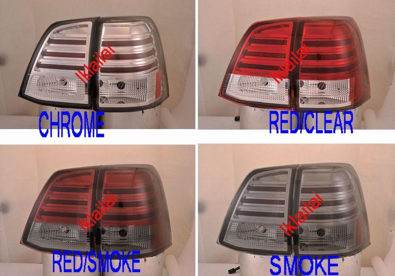 SONAR Toyota Landcruiser FJ200 `07-10 Tail Lamp Crystal LED