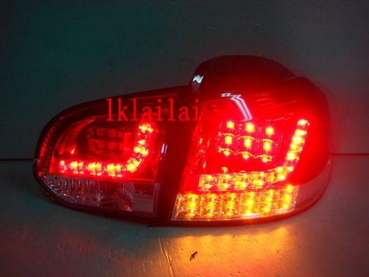 SONAR Volkswagen Golf 6 MK6 '09 Full LED Tail Lamp [Red]
