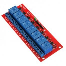Songle 8-Channel 5VDC Relay Module