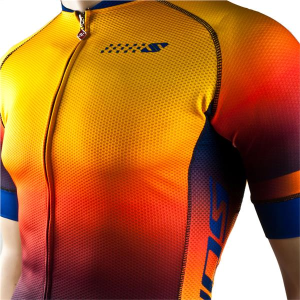 "NEW!! SONIC DESIGN SUPER LIGHTWEIGHT COOLING Cycling Jersey ""Sunset"""