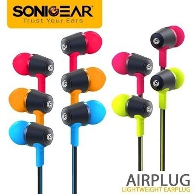 SONIC GEAR AIRPLUG 200 NEO IN-EAR EARPHONES WITH MIC