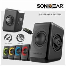 Sonic Gear Quatro 2 Portable Speaker 6W RMS / Powered by USB