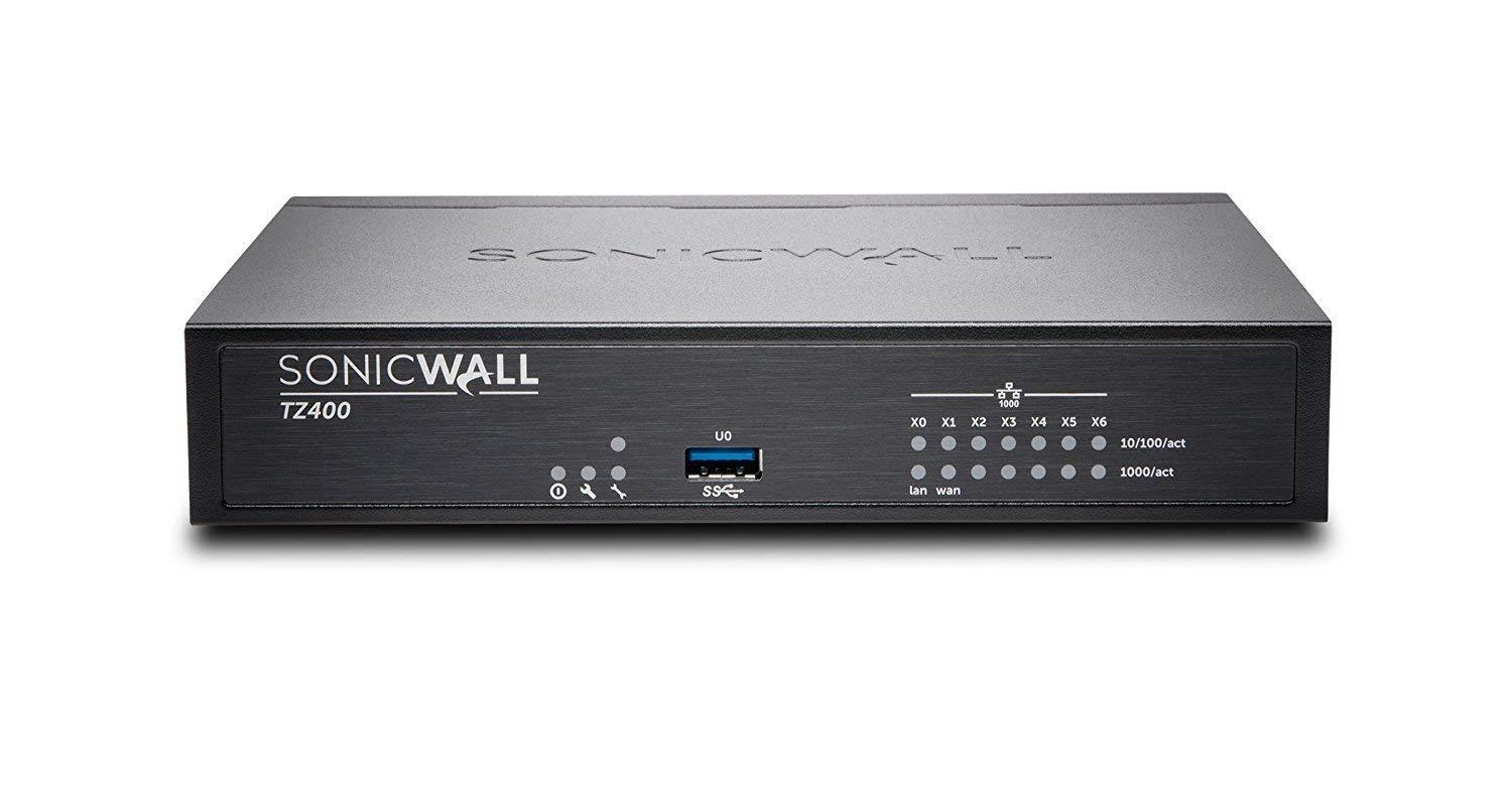 SONICWALL TZ400 TOTAL SECURE- ADVANCED EDITION 1 YEAR