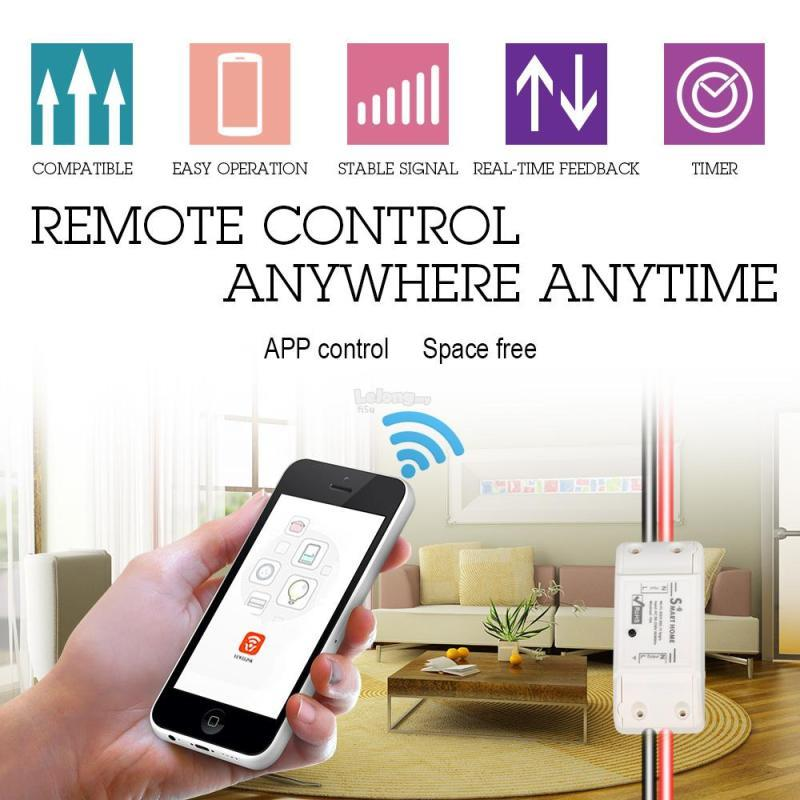 Sonoff Smart Home Control Electrical Item by HP App/Alexa/Google Home