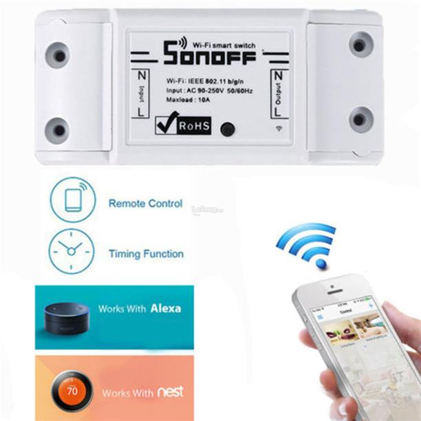 Sonoff Wireless Smart Switch DIY Home (end 3/7/2019 9:15 PM)