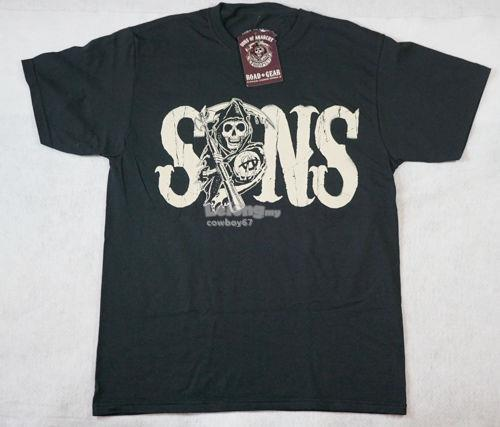 Sons Of Anarchy- Back Reaper Redwood Original T-shirt - New
