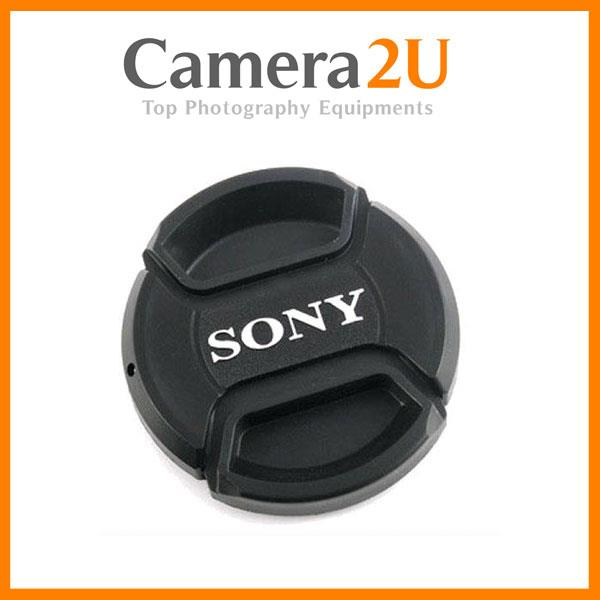 New Sony 49mm Snap On Lens Cap for Sony Lens Digital Camera