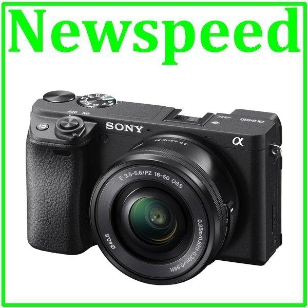 Sony A6400 16-50mm Lens Kit Mirrorless Digital Camera +64GB