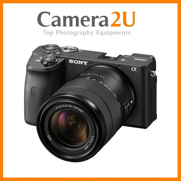 Sony A6600 18-135mm Lens Kit Mirrorless Digital Camera +64GB+Battery