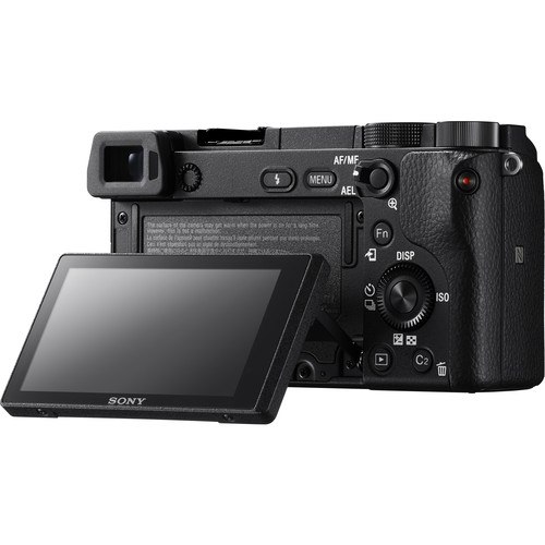 Sony Alpha a6300 a6300L Mirrorless Digital Camera with 16-50mm Lens E-